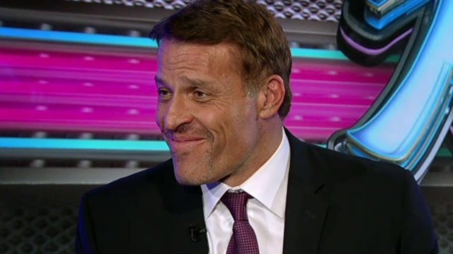 Tony Robbins on the steps to success