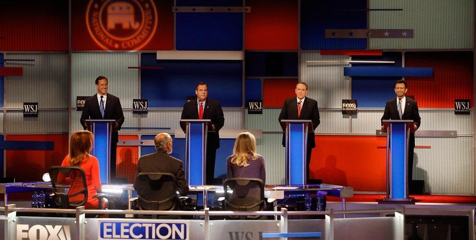The GOP Debate featuring New Jersey Gov. Chris Christie, Louisiana Gov. Bobby Jindal, former Arkansas Gov. Mike Huckabee, and former Sen. Rick Santorum.