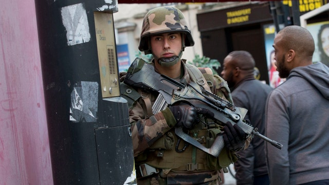 Why is there a reluctance to a broader military response to terrorism?
