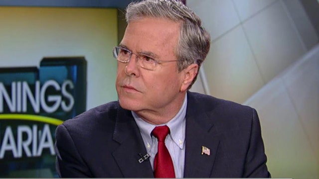 Republican presidential candidate Jeb Bush on the fight against terrorism, the need for more cooperation between the federal government and technology companies in the use of metadata and the Syrian refugees.