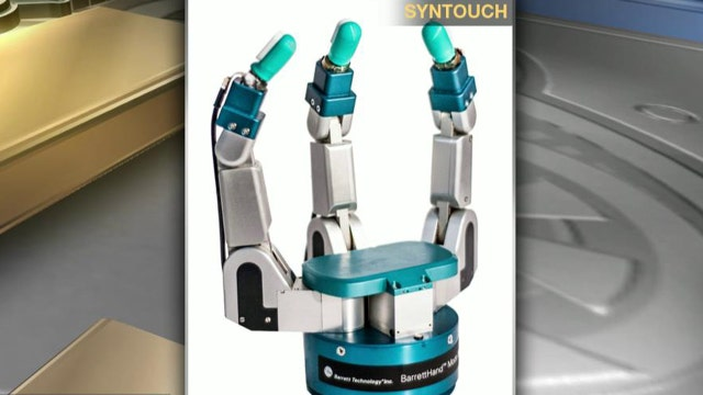 Replicating the human sense of touch for robots