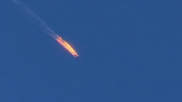 Russian fighter shot down  by Turkish military