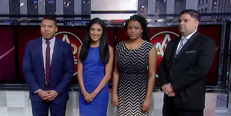 2015 Ailes Apprentice Program graduates Randall Payton, Shivan Sarna, Danaia Williams and Mauricio Munoz on their experiences in the program.