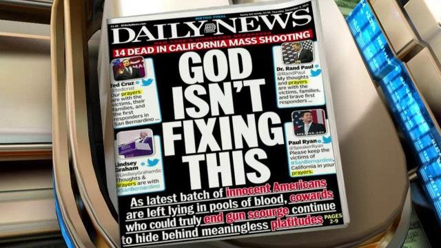 NY Daily News under fire for prayer shaming
