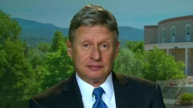 Fmr. Gov. Gary Johnson: I'm running for president