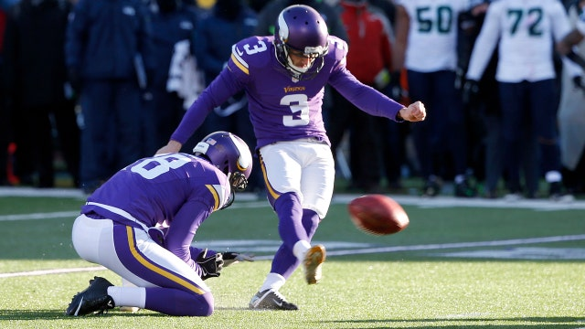 Vikings lose playoff game with missed field goal