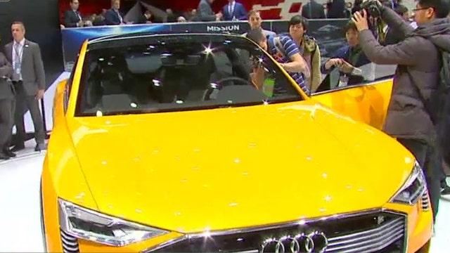 Audi unveils hydrogen-powered car