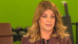 Kirstie Alley on Trump: 'He's Waking This Country Up'