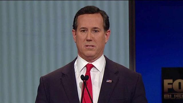 Santorum: I won't let America be trampled on by radical jihadists