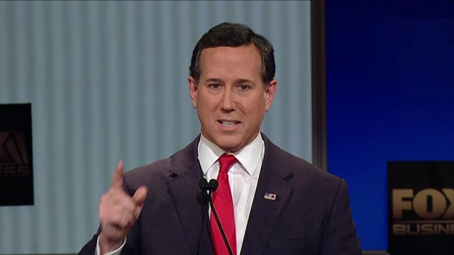 Santorum: Rebuilding the American family will change the economy
