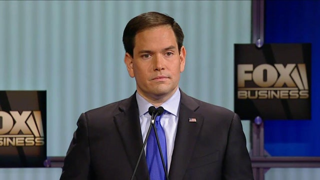 Rubio: Hillary Clinton is disqualified from being U.S. Commander in Chief