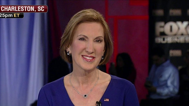 Fiorina: I have a robust ground game