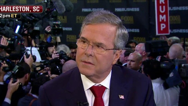One-on-one with Jeb Bush after the GOP debate