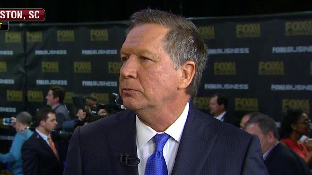 John Kasich on breaks down the GOP debate