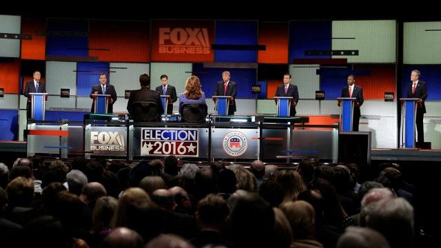 What was trending online during the GOP debate?