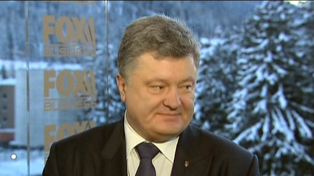 Ukrainian President: Russia's become more and more unpredictable
