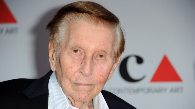 Sumner Redstone to step down as CBS executive chairman