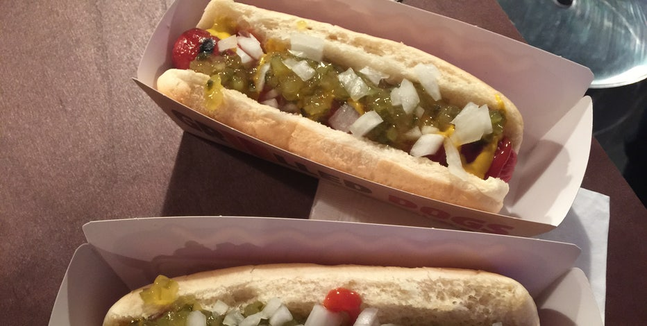 FOXBusiness.com's Jade Scipioni heads to Burger King to test out their new grilled hot dogs.