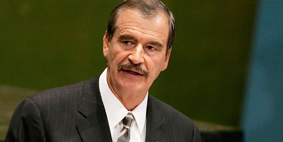 Former Mexican President Vicente Fox on Donald Trump's calls to build a wall along the border with Mexico, the Hispanics' voting for Trump in the Nevada caucus and Trump's broader support among Republicans.