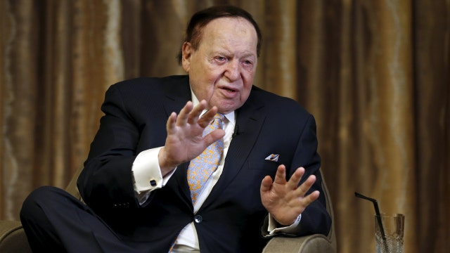 Casino billionaire Sheldon Adelson tells FOX Business' Liz Claman he's ready to expand his Vegas empire.