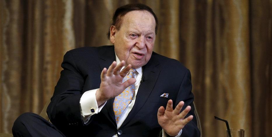 Casino billionaire Sheldon Adelson tells FOX Business' Liz Claman he's ready to expand his Vegas empire.