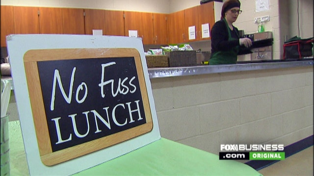 Gaby Wilday of No Fuss Lunch talks to FOXBusiness.com's Jade Scipioni about how her company is transforming school lunches.