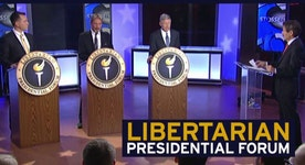 Libertarian presidential candidates talk top issues on Stossel