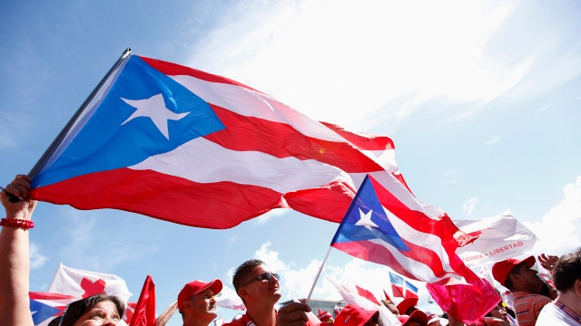 Marathon Asset Management CEO Bruce Richards on Puerto Rico's debt crisis.