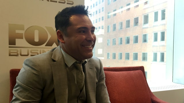 Boxing legend Oscar De La Hoya, CEO of Golden Boy Promotions, talks to FOXBusiness.com about keeping new boxing fans engaged after the Mayweather-Pacquiao megafight in 2015.