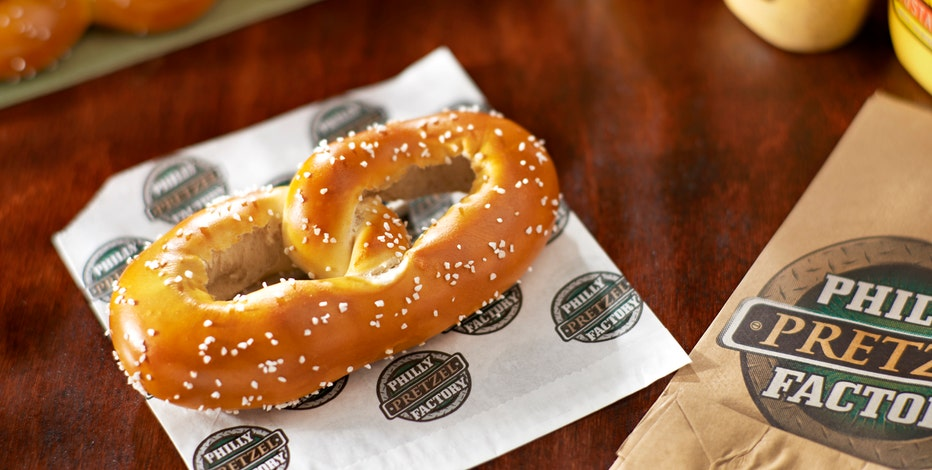 FBN's Charles Payne on the Philly Pretzel Factory.