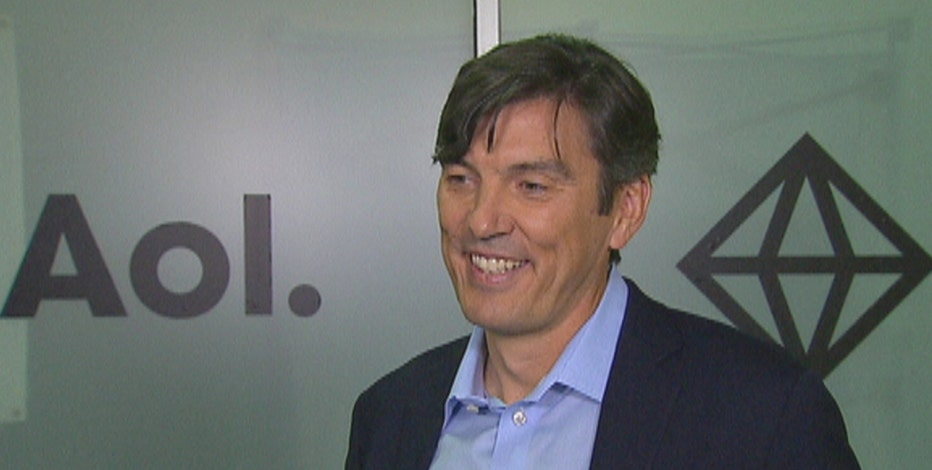AOL CEO Tim Armstrong shares advice about the M&A process, reports of Facebook 'trending topics' bias, and tech in New York City.