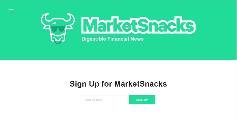 Market Snacks Co-Founders Jack Kramer and Nick Martell talk to FOXBusiness.com's Serena Elavia about their newsletter covering financial news for Millennials.