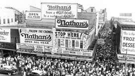 Nathan's Famous celebrates 100th birthday