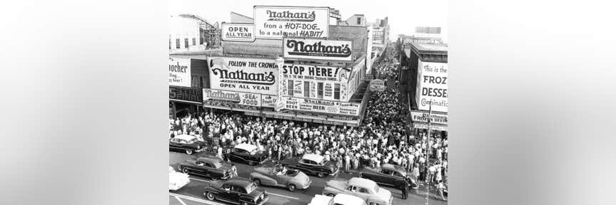 Celebrate Memorial Day with Five-Cent Nathan's Hot Dogs