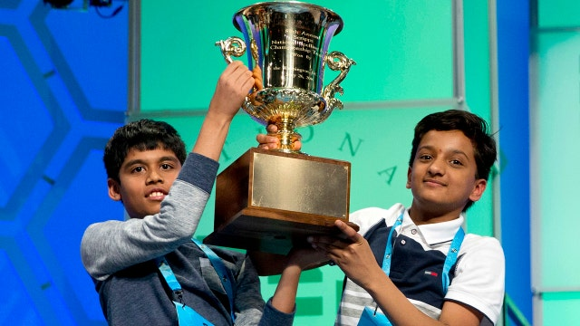 Nicole Petallides talks to the co-champs of the Scripps National Spelling Bee about winning and why they say this is just the beginning.