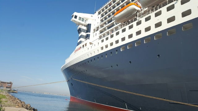 FOXBusiness.com gets an inside look at Carnival Cruise Line/Cunard's Queen Mary 2, docked in Brooklyn, NY.