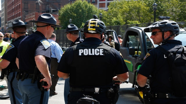 Thousands of officers descend on the RNC