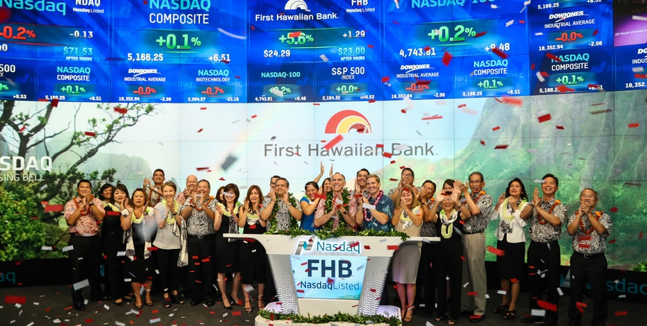 First Hawaiian, the state's largest bank, raised nearly $500 million in an initial public offering. CEO Bob Harrison talks about why the time was right to IPO.