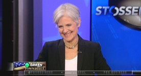Jill Stein makes case for renewable energy at town hall