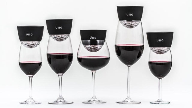 Ullo's Founder James Kornacki created a wine purifying system to take out sulfites out of wine that can cause allergies in some drinkers.