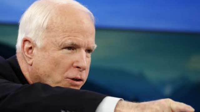 Sen. John McCain on proposed military cuts, Ukraine