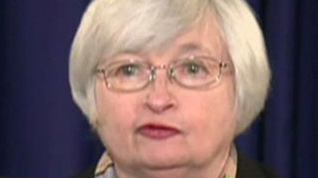 Yellen's first press conference sends markets into tizzy