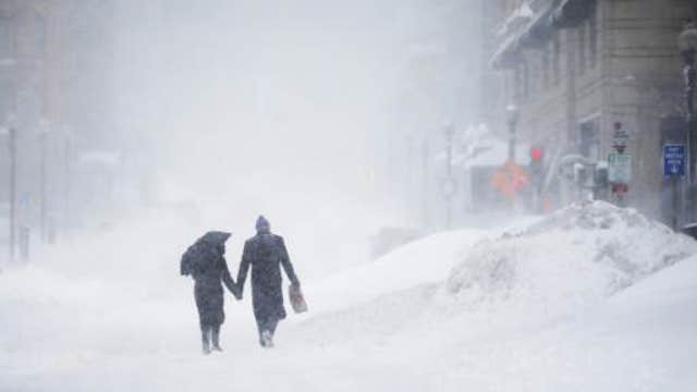 How wintry weather impacts the economy