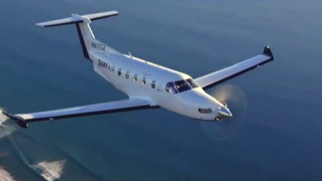 Surf Air's 'all-you-can-fly' model for a monthly fee