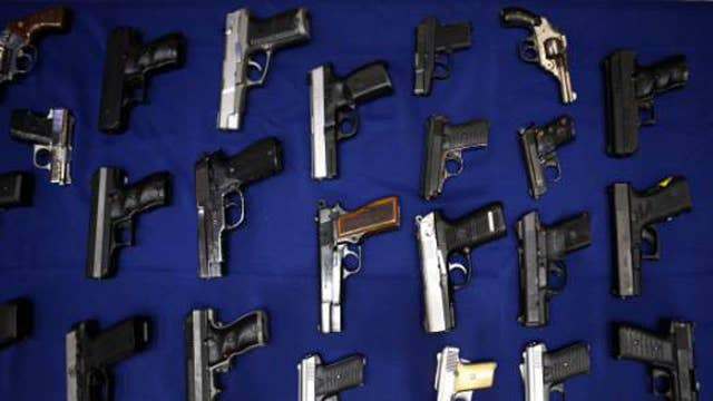 Guns topping Americans' Christmas lists