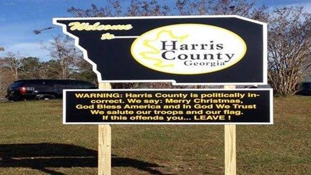 Harris County Sheriff fighting back against political correctness