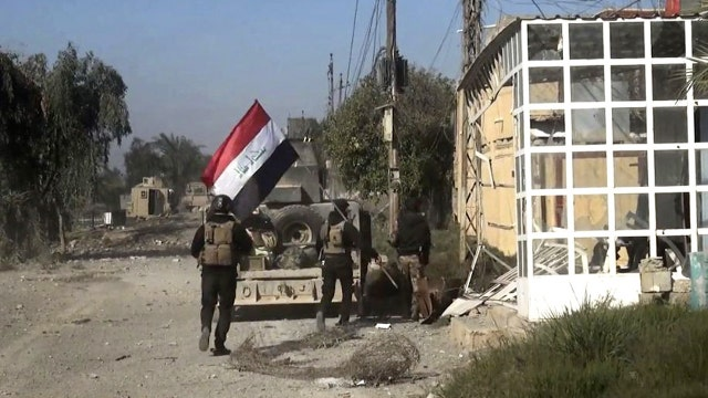 What are the diplomatic implications of the progress in Ramadi?