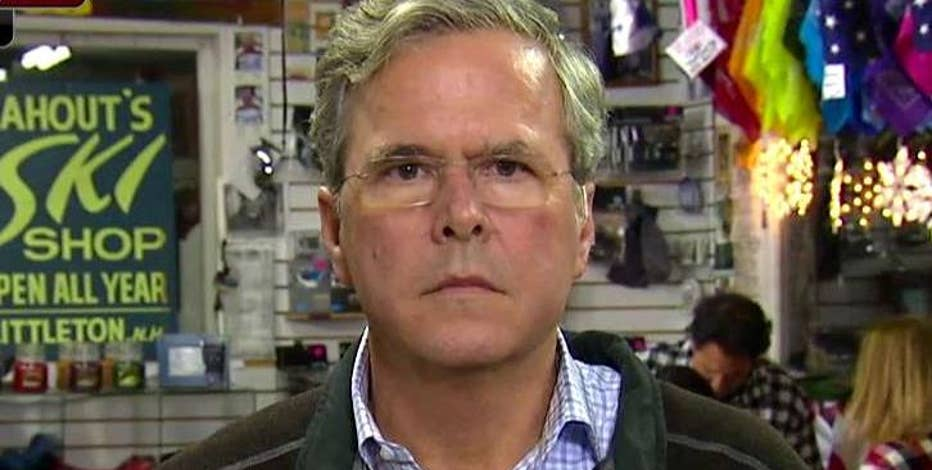 Republican presidential candidate Jeb Bush on his tax plan, Donald Trump, Gov. Chris Christie and the key issues on the minds of voters.