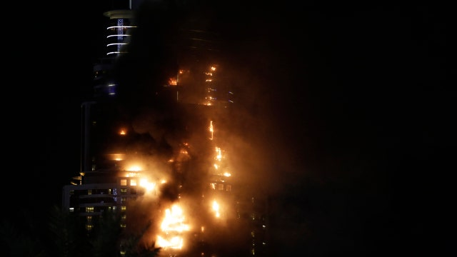 Fire breaks out at Dubai hotel