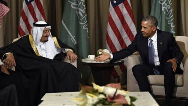 Saudi Arabia's double door